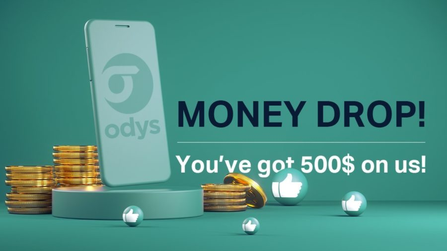 Get $500 in your ODYS.Global account