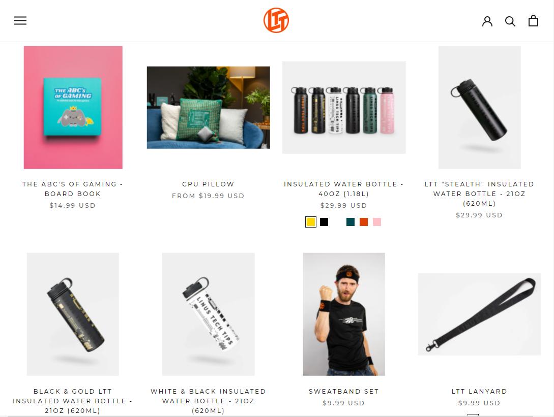 LinusTechTips.com Forum Store