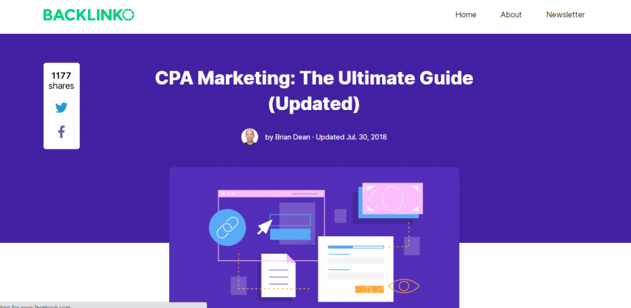 CPA Marketing The Ultimate Free Guide by Backlinko