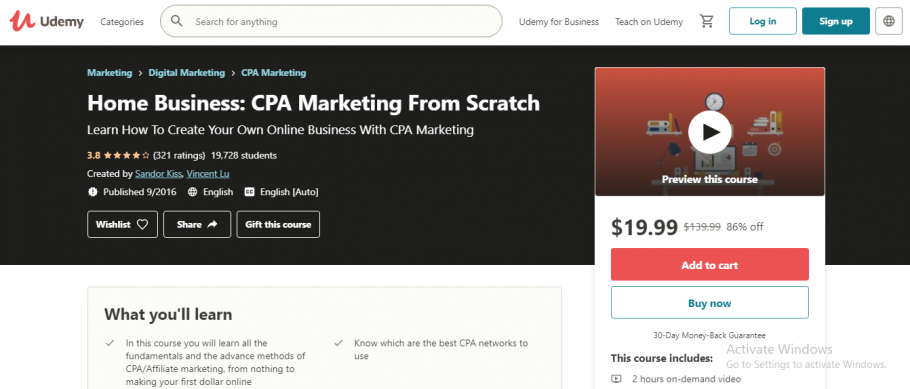 Home Business - CPA Marketing from Scratch
