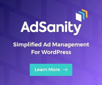 Get AdSanity Plugin