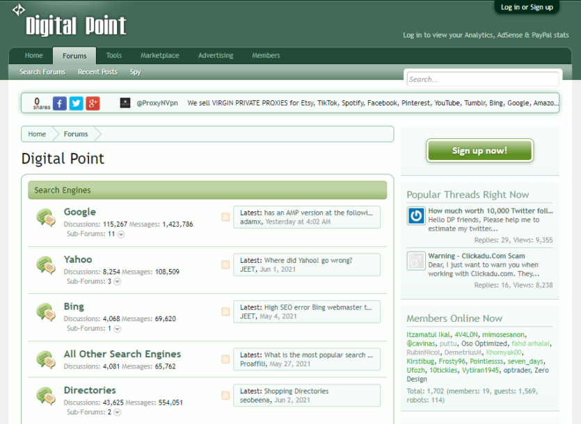 DigitalPoint - Digital Marketing Forum