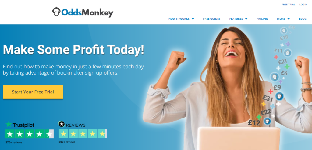 OddsMonkey - How to take advantage of bookmaker sign up offers