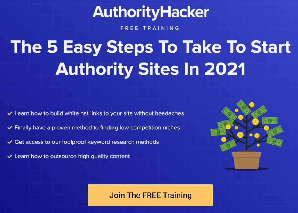 Authority Hacker Training