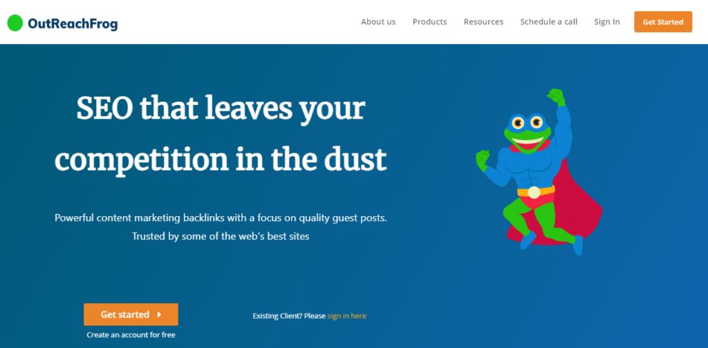 Link Building Agency - OutreachFrog