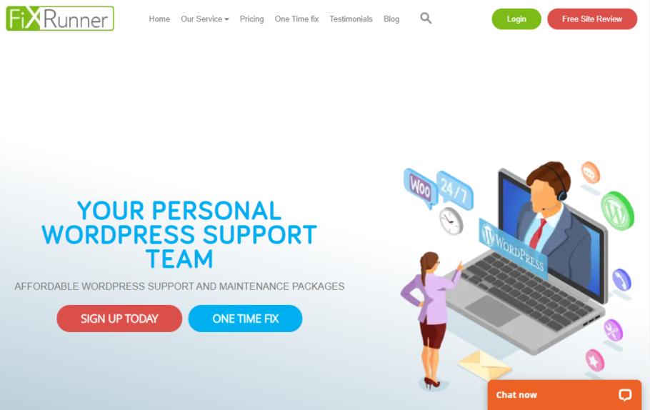 FixRunner - Wordpress Maintenance Services