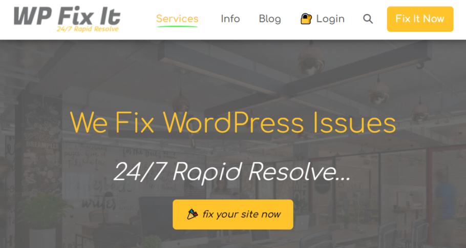 WPFix It - Wordpress Support Service Company