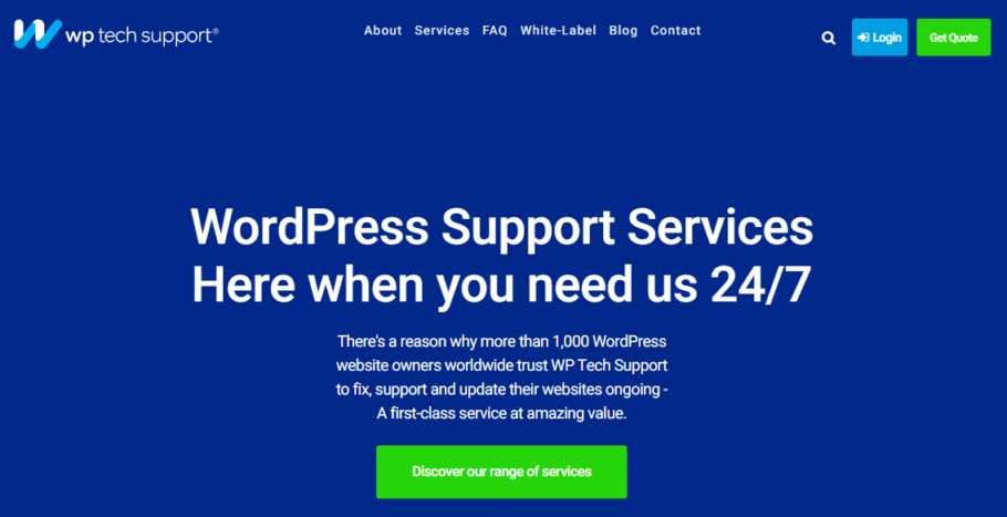 Wordpress Support Services of WP Tech Support
