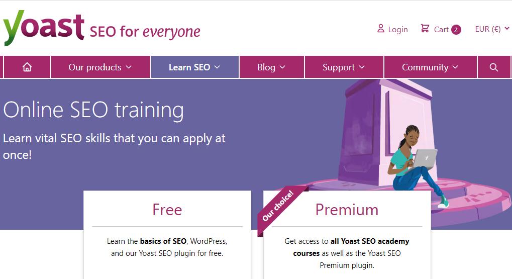 Yoast SEO Premium Academy Coupon code – 2 Months Free