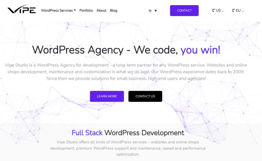 Vipe - WordPress Development Agency